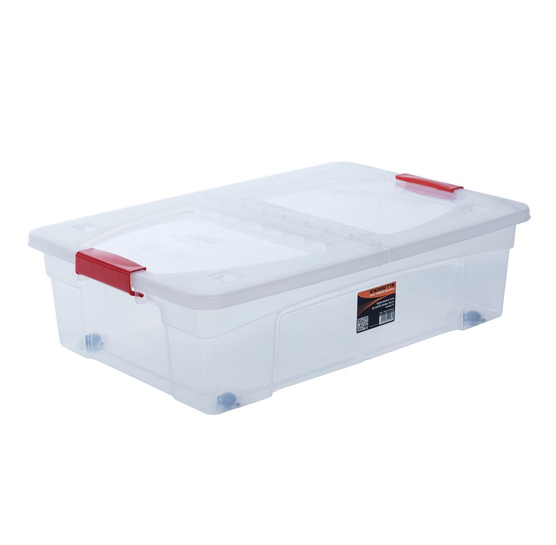 קופסת אחסון עם סגרים - דגם דניאל 30 ליטר