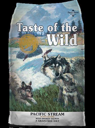 """074198611171 מזון יבש לגורים בטעם דגים 12.2 ק""""ג Taste Of The Wild"""