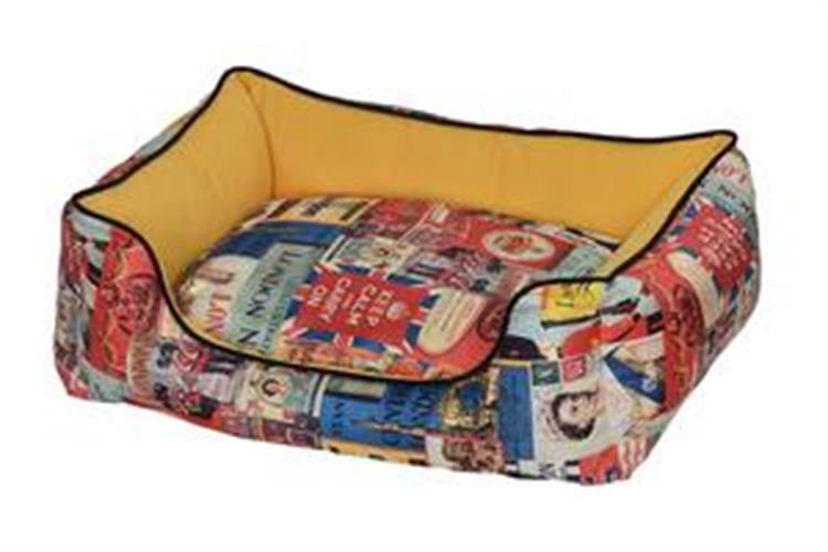 מיטה לונדון צהוב 90X75X24