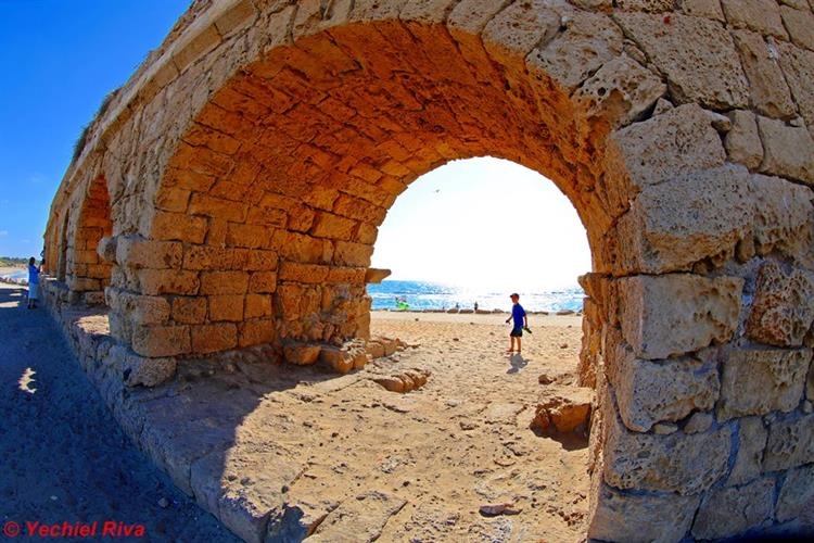 Support Israel and get this picture: Caesarea