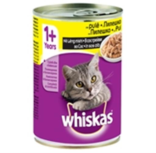 ויסקס שימור לחתול טונה -400 גר- Whiskas