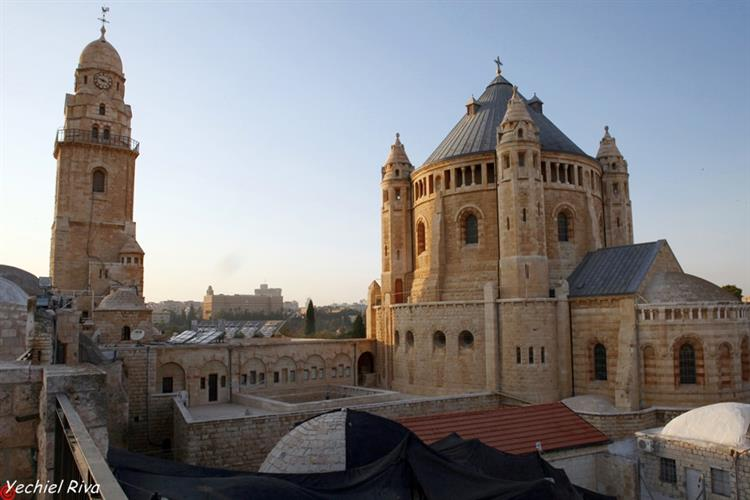 Support Israel and get this picture: Abbey of the Dormition