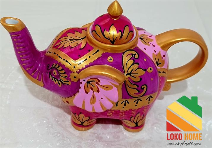 Elephant decorative kettle
