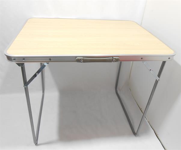 שולחן מתקפל קל  לקמפינג 80 סמ' אורך 60 סמ' רוחב לים לבית ולשטח