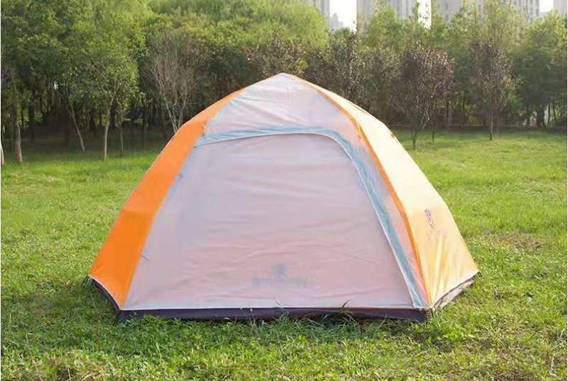 אוהל משפחתי ל-6 עד 8 אנשים מנגנון פתיחה מהירה אוטומטי אוהל 3 עונות, כולל כיסוי גשם למחנאות וקמפינג