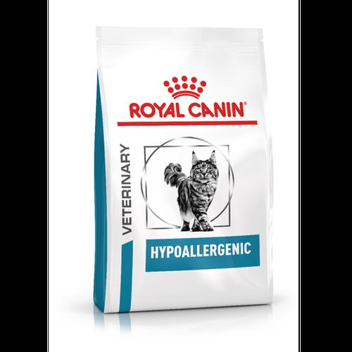 """מזון רפואי יבש לחתולים היפואלרגני 2 ק""""ג Royal Canin רויאל קנין"""