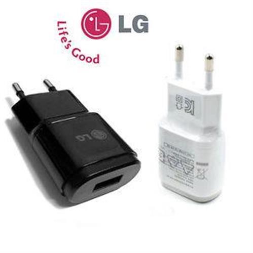 מטען (ראש בלבד) - LG G3/G4 original 5V 1.8A שחור במלאי