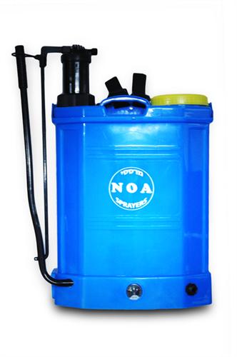 מרסס גב 16 ליטר חשמלי-  נטען + ידני דגם NOA-02