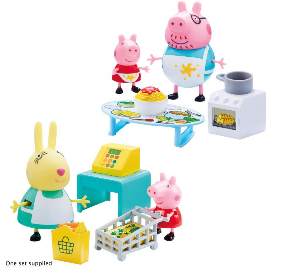 פפה פיג-פפה קניות ובישולים