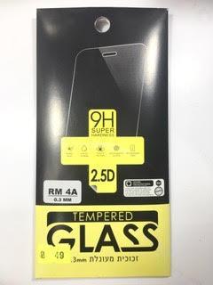 מדבקת זכוכית לשיאומי Xiaomi Redmi 4A