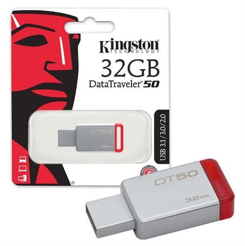 דיסק און קי Kingston 32GB Data Traveler 50 usb 3.1
