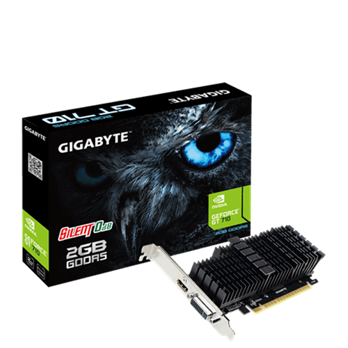 כרטיס מסך Gigabyte GT 710 2GB DDR5 DVI HDMI