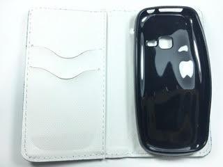 מגן ספר לסמסונג E3300 3G דגם צבעוני