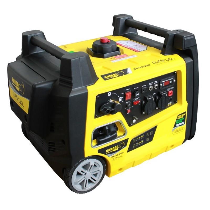 גנרטור שקט אינוונטר 3500W גנרטור מושתק נייד עם גלגלים דגם CPI3500 , תוצרת KARNAF