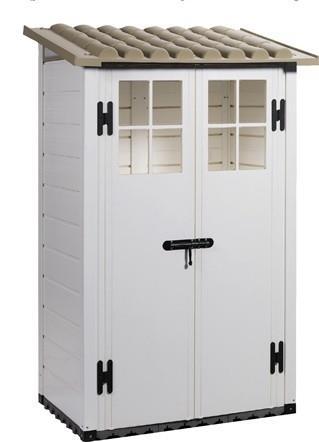 מחסן חצר טוסקני צד 2 דלתות דגם 100