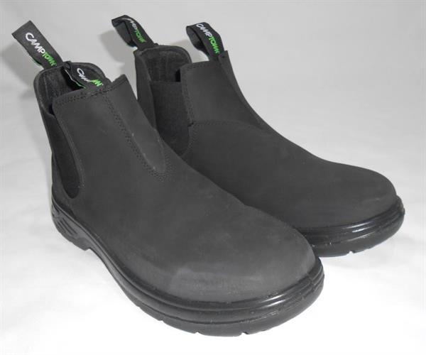 נעליים 42 נאות מגף הליכה יציאה בילוי ועבודה מבית CAMPTOWN 22512 שחור