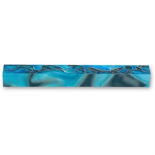בלוק אקרילי כחול קורל
