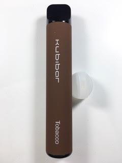 סיגריה אלקטרונית חד פעמית כ 1500 שאיפות Kubibar Disposable 20mg בטעם טבק Tobacco