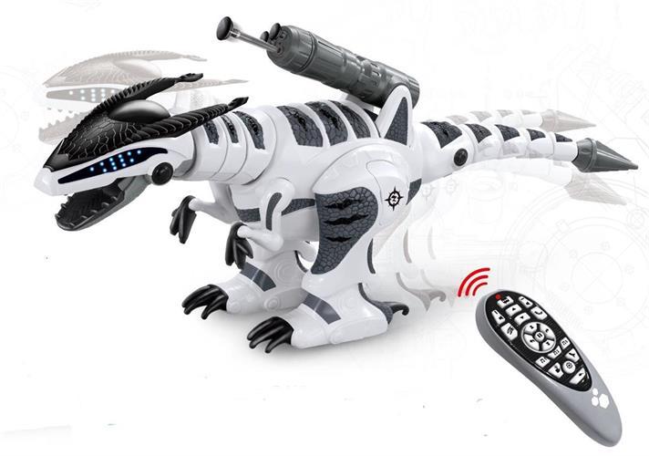 דינוזאור לוחם על שלט אלחוטי