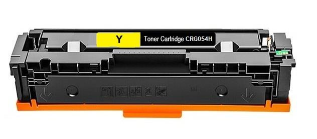 טונר צהוב תואם Canon LBP621,623,645 MF643,645 CRG054H Y