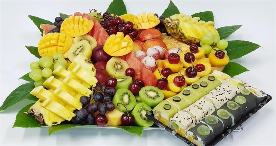 מישלן משולב סושי פירות XL - ספיישל שף