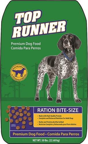 """35406500908 מזון יבש לכלבים 22.7 ק""""ג Top Runner"""