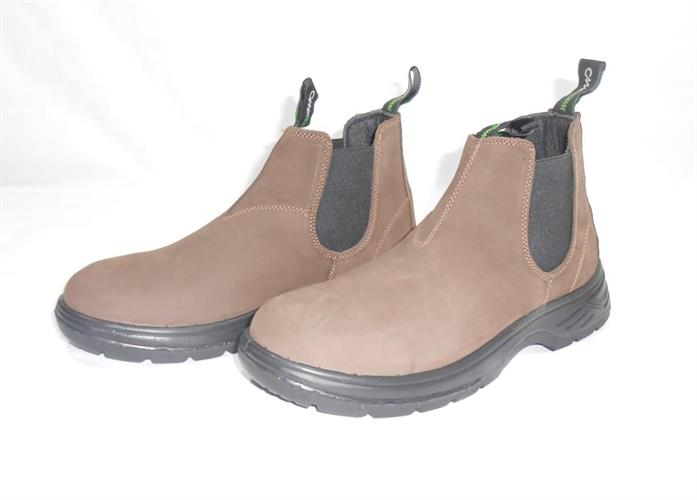 מגפיים 40 נאות מגף הליכה יציאה בילוי ועבודה מבית CAMPTOWN 220501  צבע חום כהה