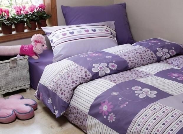 מצעים למיטת יחיד 100% כותנה - פריד דגם ברמודה