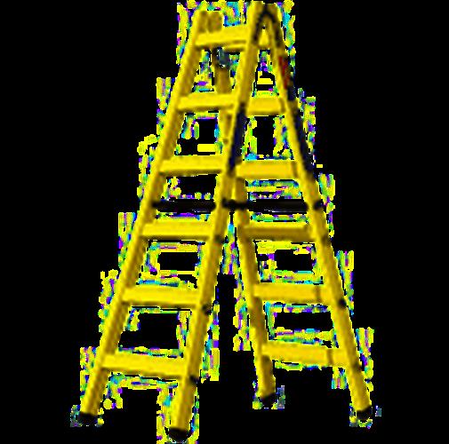סולם עץ 6 שלבים - תו תקן אירופאי