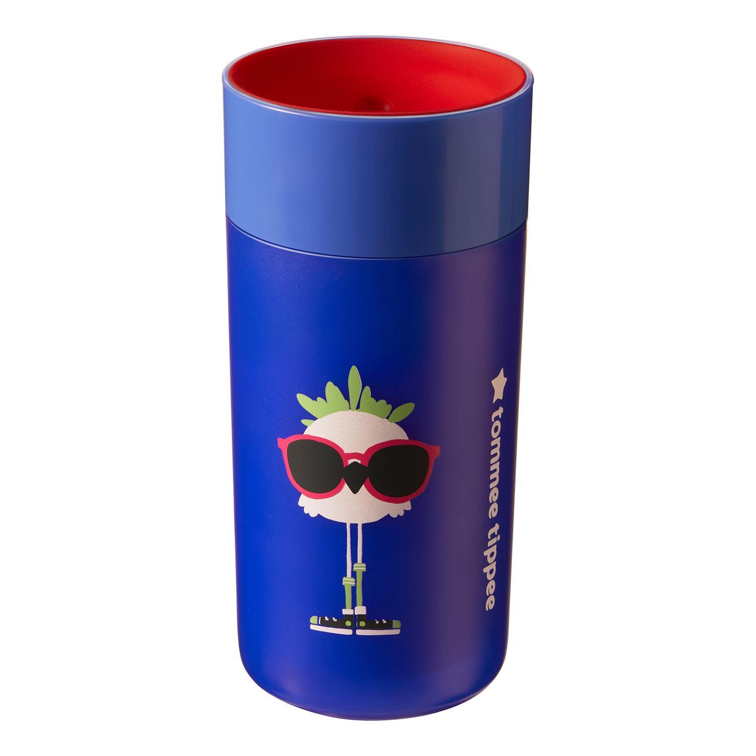 כוס 360 מבודדת 12+ כחול