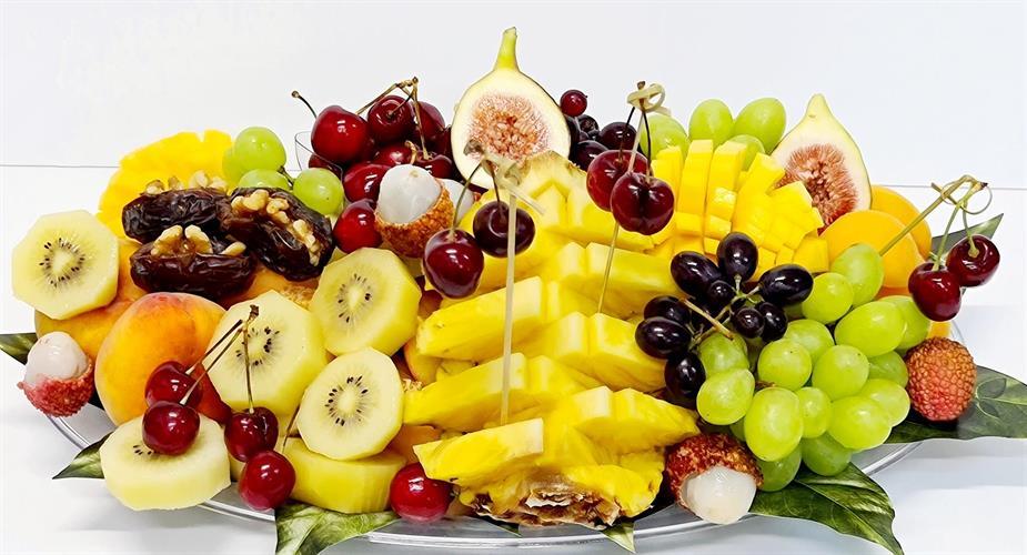 מתנת פירות אובלית - M