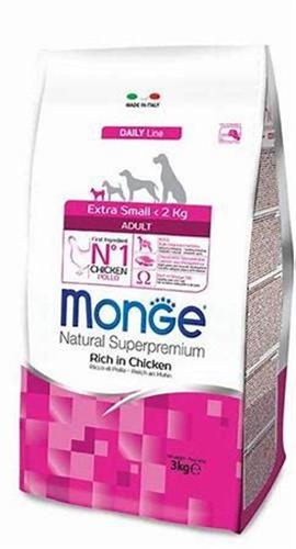 MONGE- XS   עוף לכלב אדולט 3 קג
