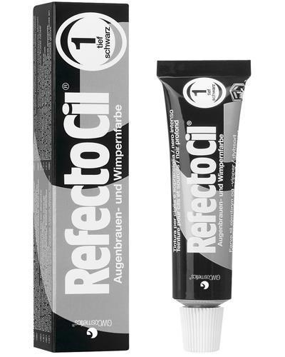 רפקטוסיל  צבע  שחור    לגבות. מס 1