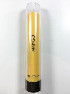 סיגריה אלקטרונית חד פעמית כ 1200 שאיפות Kubi X Disposable 20mg בטעם מנגו Mango