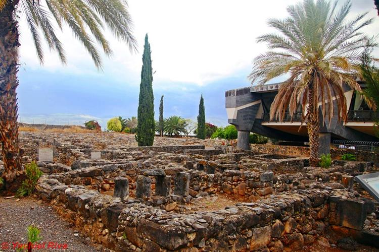 Support Israel and get this picture: St. Peter's Church, Capernaum