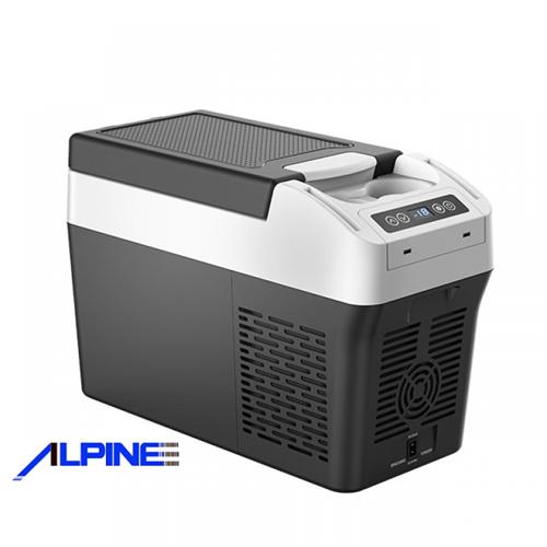 מקרר קומפרסור לרכב 12 ליטר תוצרת ALPINE דגם ALP12