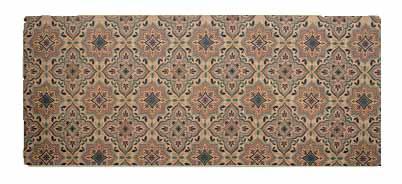 שטיח מטבח איכותי בתוספת גומי בתחתית דגם - 21 (מתנקה בקלות!)