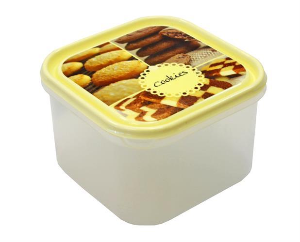 קופסאת אחסון לעוגיות 4 ליטר