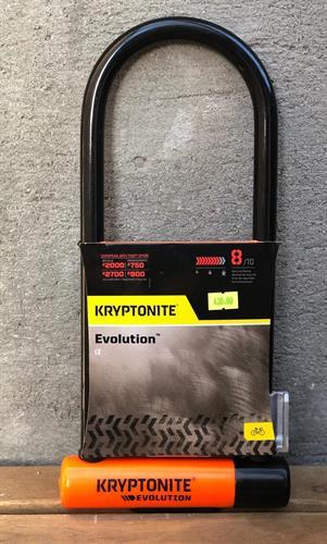 מנעול מבית קריפטונייט לאופניים Kryptonite - Evolution LS U-Lock