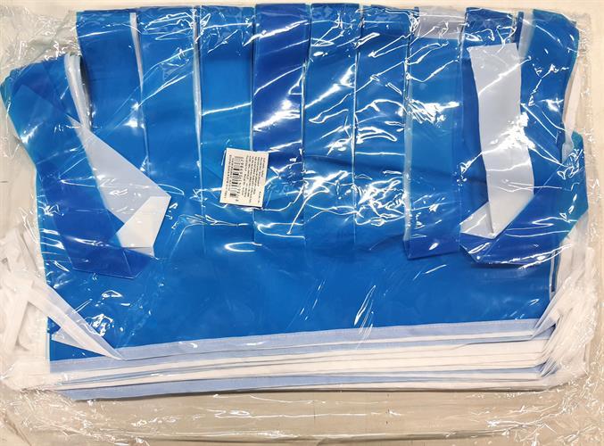 שרשרת שובלים כחול לבן 25 מטר