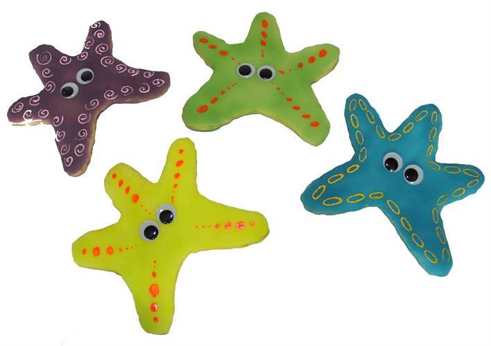 כוכבי ים צבעוניים