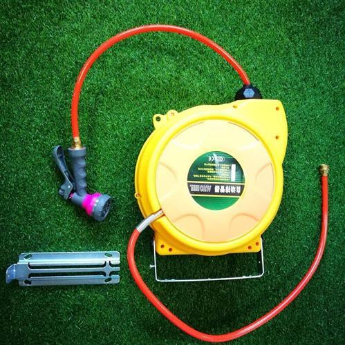 גלגלת מים אוטומטית  קפיצית 15 מטר