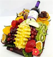 love basket-fruits&wine - סל האהבה