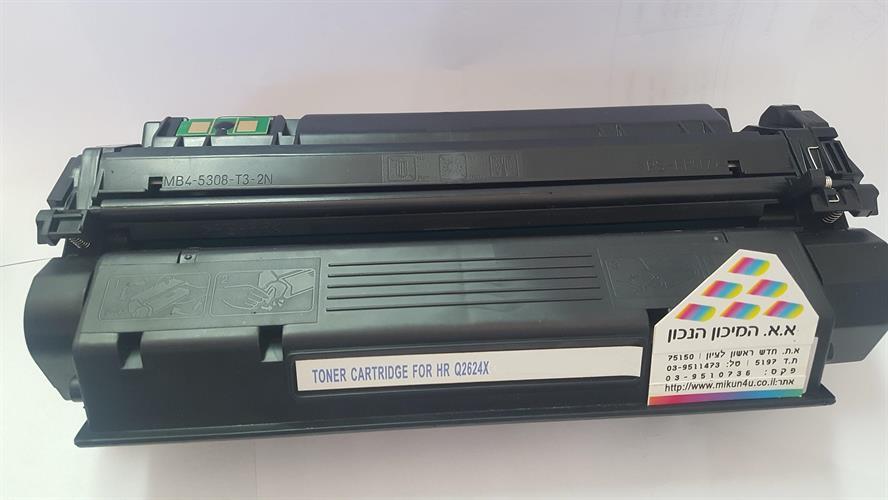 טונר שחור תואם HP Q2624A