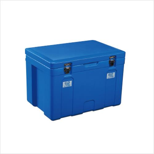צידנית 122 ליטר דגם אוסטרלי כחול עם גלגלים