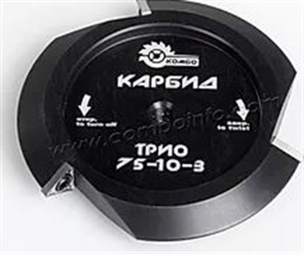 דיסק עם סימות מתחלפות משולשות 75-10-3