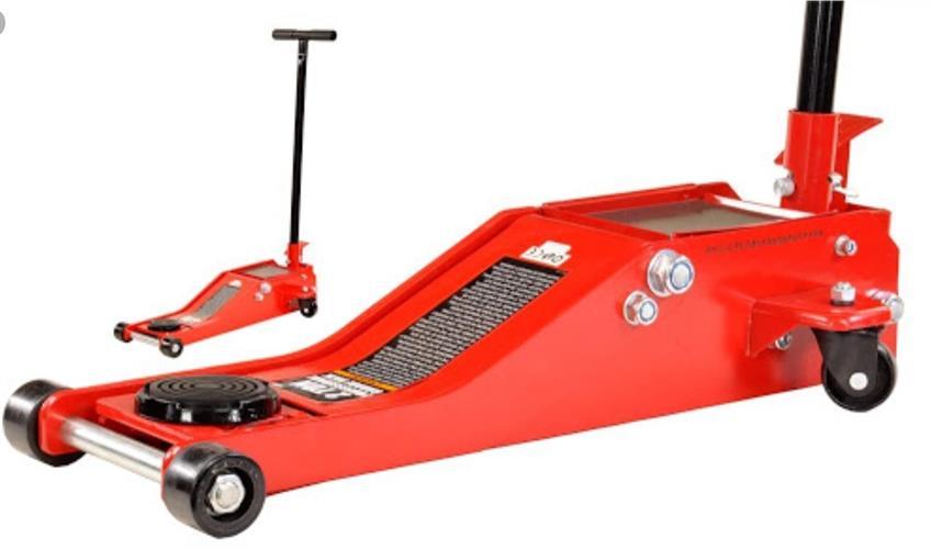 ג'ק מגבה למכוניות  פרופיל נמוך 2 טון עם 4 גלגלים מקט BRPGJ001