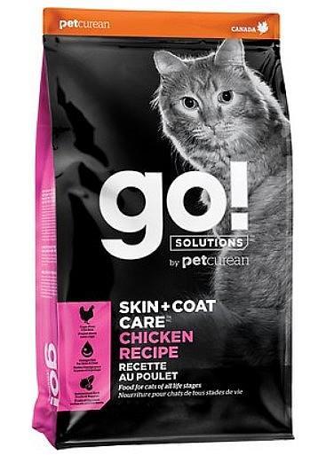 """גו! לחתול עוף, סקין + קואט 3.7 ק""""ג"""