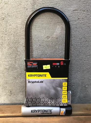 קריפטונייט מנעול לאופניים Kryptonite - Original Keeper STD 6/10