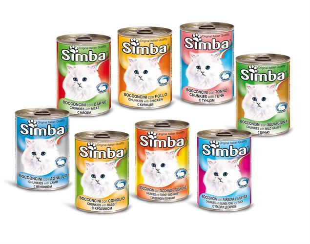 3 יח' שימורי סימבה לחתול